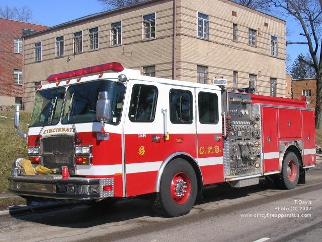 Seagrave Fire Apparatus >> Cincinnati Fire Department - Station 8
