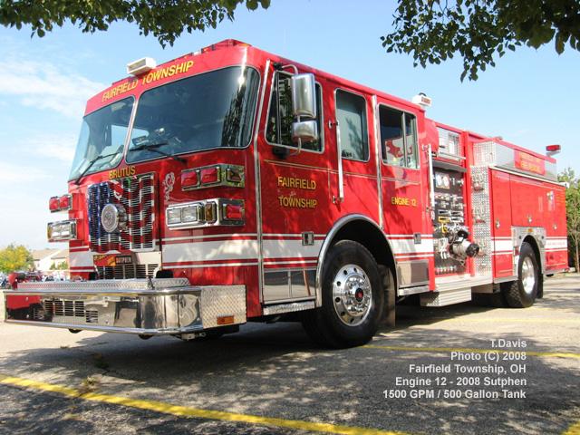 Newark Ohio Fire Department 128 Fairfield Avenue working ...